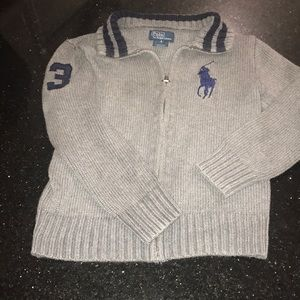 Boys polo zip up in good condition. Size 6